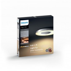 Philips Hue White ambiance Plafón gris metalizado LED Still