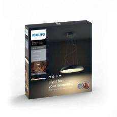Philips Hue White ambiance Lámpara colgante negra LED Amaze