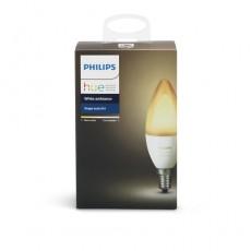 Philips Hue White ambiance Bombilla vela de casquillo fino E14