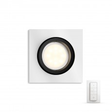 Philips Hue White ambiance Foco empotrable LED Milliskin en gris metalizado