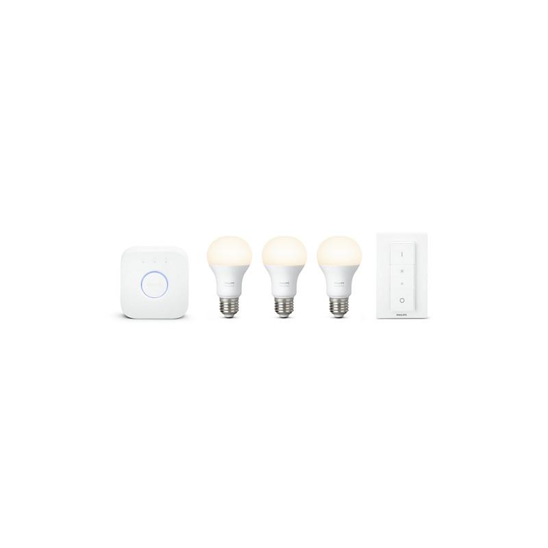 3 De Bombillas White Inicio LedCasqui Que Philips Incluye Kit Hue QdCBWrxeo