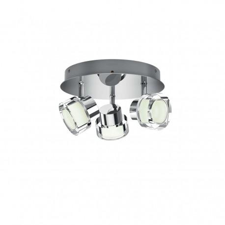 Foco Baño   Resort Plate Spiral Chrome 3x4 5w Selv Philips 3417411p0 Techo Bano
