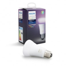 Philips Hue White and color ambiance Bombilla individual de casquillo gordo E27