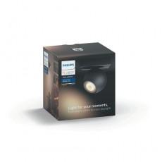 Philips Hue White ambiance Foco doble LED negro Buckram, casquillo GU10