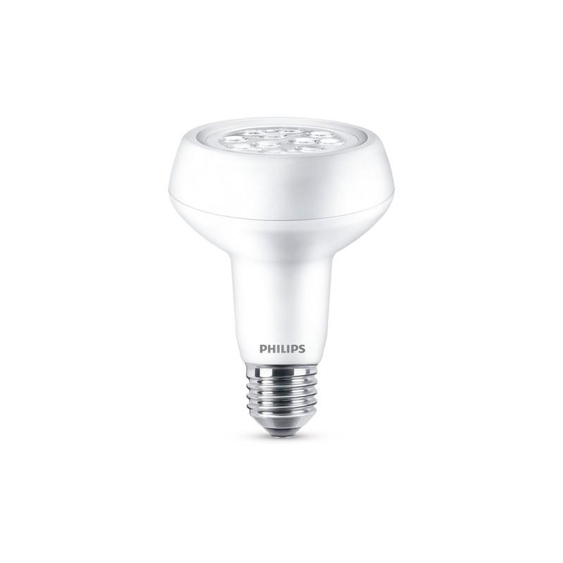 regulable 7W LED lámpara Philips cálido E27 Blanco no Mate Philips 3 lFTJcK1