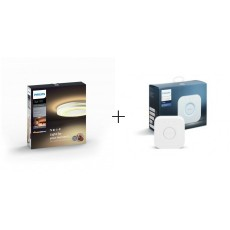 Philips Hue White ambiance Plafón blanco LED Being +Bridge