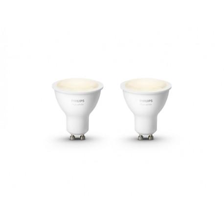 Hue White Paquete dual GU10