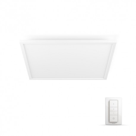 Aurelle SQ ceiling lamp white 55W 230V